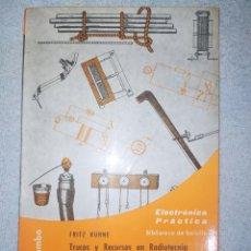 Livros: ELECTRÓNICA PRÁCTICA. EDICIÓN DE BOLSILLO. EN EXCELENTE ESTADO DE CONSERVACIÓN.. Lote 265981933