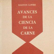 Libros: AVANCES DE LA CIENCIA DE LA CARNE. LAWRIE. NUEVO.. Lote 267755934