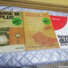 Libros: LIBROS DBASE III Y IV BORLAND. Lote 268317669