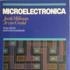 Libros: MICROELECTRÓNICA. MILLMAN. NUEVO. Lote 269948053