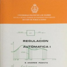 Livros: REGULACIÓN AUTOMÁTICA I. UNIVERSIDAD POLITÉCNICA DE MADRID. E.T.S.I.I.. Lote 100631611
