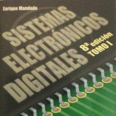 Libros: SISTEMAS ELECTRÓNICOS DIGITALES. CON CD. 8ª EDICIÓN. MANDADO. NUEVO. Lote 270141373