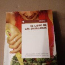 Libros: EL LIBRO DE LAS ENSALADAS.. Lote 270639818