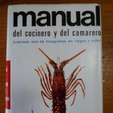 Libros: MANUAL DEL COCINERO Y DEL CAMARERO. Lote 270642418