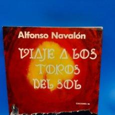 Libros: VIAJE A LOS TOROS DEL SOL. ALFONSO NAVALON. Lote 270686348