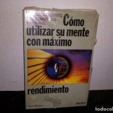 Libros: 35- CÓMO UTILIZAR SU MENTE CON MÁXIMO RENDIMIENTO - TONY BUZAN. Lote 270895358