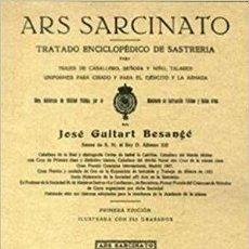 Libros: TRATADO ENCICLOPÉDICO DE SASTRERÍA. GUITART BESANGE, JOSE. Lote 271938033