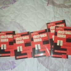 Livros: APRENDA ELECTRÓNICA---ELECTRÓNICA BASICA--6 MANUALES PARA APRENDER ELECTRÓNICA---ELECTRÓNICA ANTIGUA. Lote 272646688