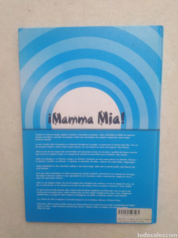 Libros: ¡ Mamma Mia ! La magia de Aldo Colombini - Foto 2 - 273985938