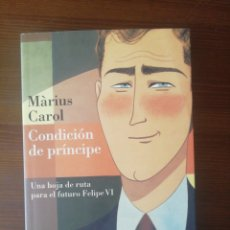 Libros: CONDICION DE PRINCIPE. Lote 276787638
