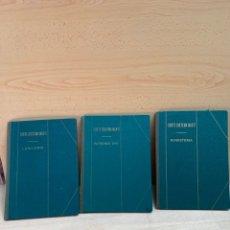 Libros: TRES LIBROS DE CORTE SISTEMA MARTI MODISTERIA, PATRONES TIPO Y LENCERÍA. Lote 276819588