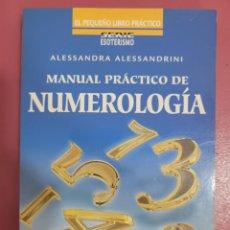 Libros: MANUAL PRÁCTICO DE NUMEROLOGIA ALESSANDRA ALESSANDRINI. Lote 277200688