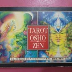 Livros: TAROT OSHO ZEN EL JUEGO TRASCENDENTAL DEL ZEN. Lote 277289508