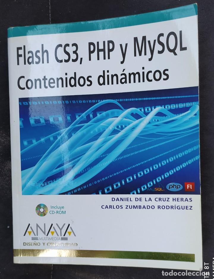 FLASH CS3, PHP, Y MYSQL ( CONTENIDOS DINÁMICOS) (Libros Nuevos - Ciencias, Manuales y Oficios - Otros)