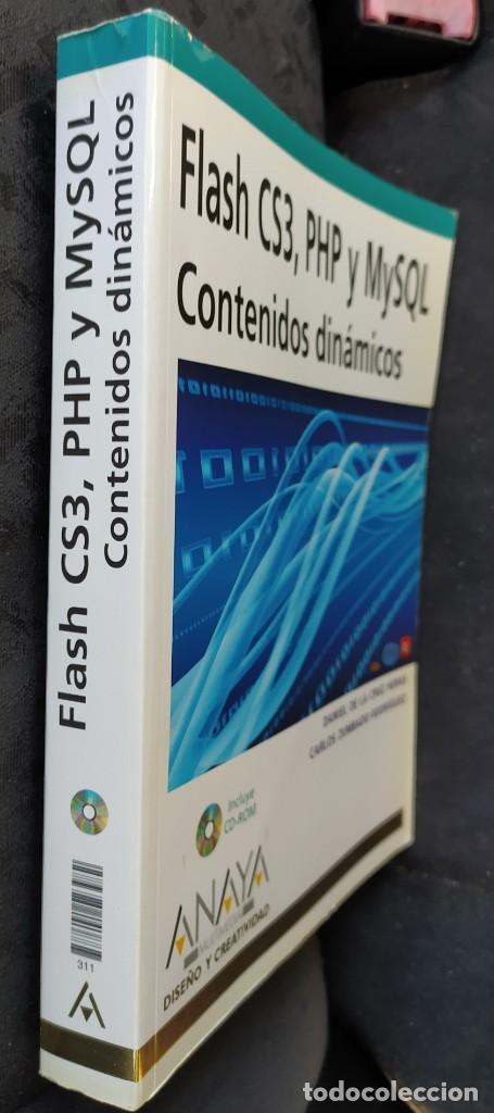 Libros: FLASH CS3, PHP, Y MYSQL ( CONTENIDOS DINÁMICOS) - Foto 3 - 280348093