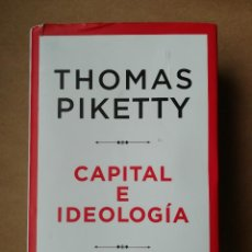 Libros: CAPITAL E IDEOLOGÍA - THOMAS PIKETTY - NUEVO. Lote 287344773