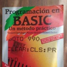 Libros: LIBRO PROGRAMACIÓN EN BASIC. Lote 289574233