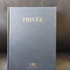 Libros: LIBRO PRIVÉE CAROLINA HERRERA. ENTREVISTA DOMINIQUE ROPION Y CAROLINA HERRERA. Lote 296836948