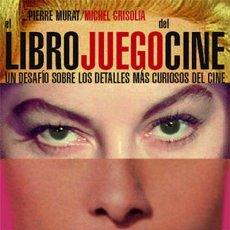 Libros: EL LIBRO JUEGO DEL CINE - PIERRE MURAT/MICHEL GRISOLIA (CARTONÉ). Lote 43897174
