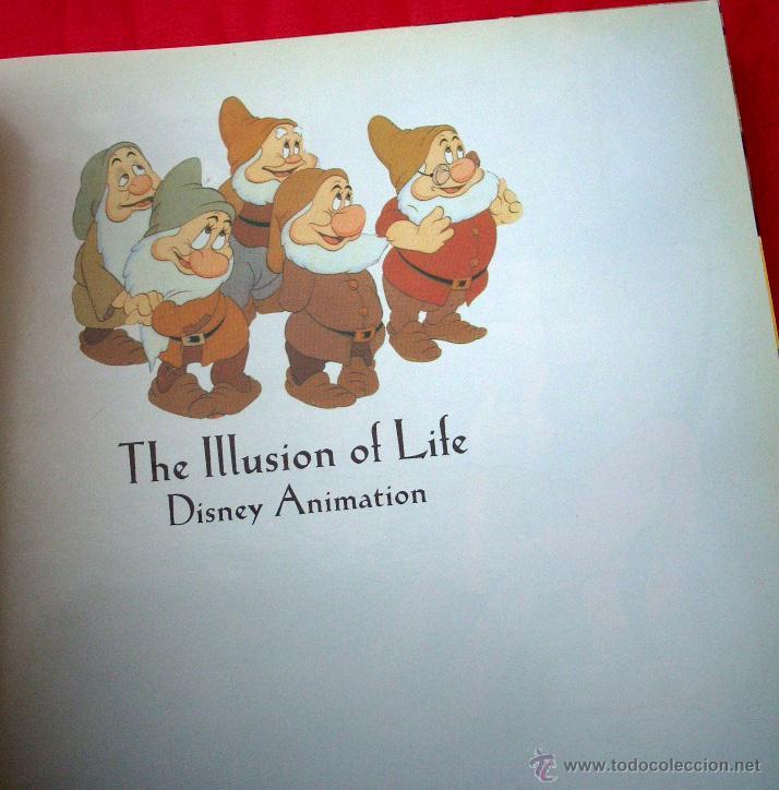 Libros: DISNEY - THE ILLUSION OF LIFE - DISNEY ANIMATION - Foto 3 - 48069278