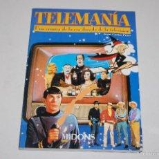 Libros: LIBRO TELEMANIA UNA CRONICA DE LA ERA DORADA DE LA TELEVISION JUAN CARLOS PRATS ED. MIDONS. Lote 56554376