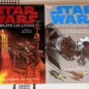 Libros: STAR WARS THE COMPLETE LOCATIONS & THE COMPLETE CROSS-SECTIONS. Lote 85201516