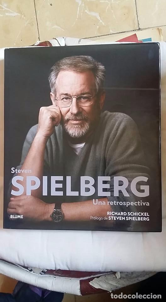 STEVEN SPIELBERG-UNA RETROSPECTIVA-RICHARD SCHICKEL-TAPA DURA-BLUME (Libros Nuevos - Bellas Artes, ocio y coleccionismo - Cine)