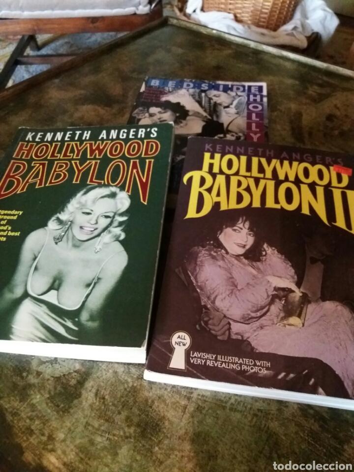 LIBROS HOLLYWOOD BABYLON (2) Y BESIDE HOLLYWOOD (Libros Nuevos - Bellas Artes, ocio y coleccionismo - Cine)