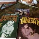 Libros: LIBROS HOLLYWOOD BABYLON (2) Y BESIDE HOLLYWOOD. Lote 91642887