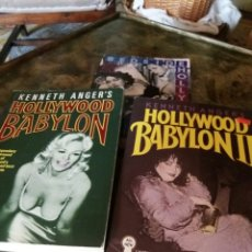 Libros: LIBROS HOLLYWOOD BABYLON (2) Y BESIDE HOLLYWOOD. Lote 91642887