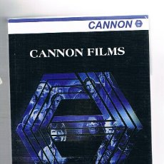 Libros: CANNON FILMS. Lote 112114652