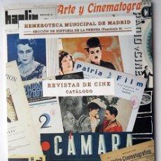 Libros: LIBRO CATALOGO REVISTAS DE CINE TAMAÑO 24X17, 88 PAGINAS-1999 VER FOTO ADICIONAL. Lote 100436267