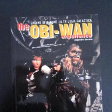 Libros: STAR WARS THE OBI-WAN EXPERIENCE (POR ALEJANDRO SERRANO) - 1997 - EDITORIAL MIDONS. Lote 101930479