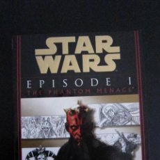 Libros: STAR WARS - EPISODE I THE PHANTOM MENACE - SCREENPLAY - 1999 - EDITORIAL DEL REY. Lote 102221611