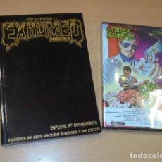 Libros: EXHUMED MOVIES AÑO 5 Nº 11 ESPECIAL 5º ANIVERSARIO + DVD LA POLIZIA SECUESTRA LA VICTIMA AGRADECE. Lote 103681135