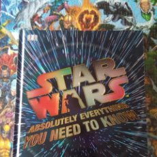 Libros: LIBRO STAR WARS ABSOLUTELY EVERYTHING YOU NEED TO KNOW. Lote 111493700