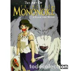 Libros: THE ART OF PRINCESS MONONOKE. Lote 119688507