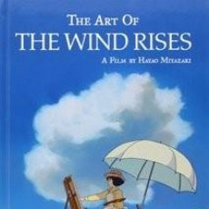 Libros: THE ART OF THE WIND RISES. Lote 117830915