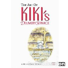 Libros: THE ART OF KIKI'S DELIVERY SERVICE. Lote 117831215