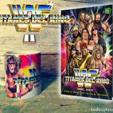 Libros: WWF: TITANES DEL RING + TAZA. Lote 122815991