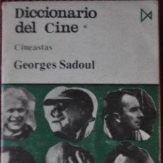 Libros: GEORGHES SADOUL.DICCIONARIO DE CINE.ISTMO.1977. Lote 120257275