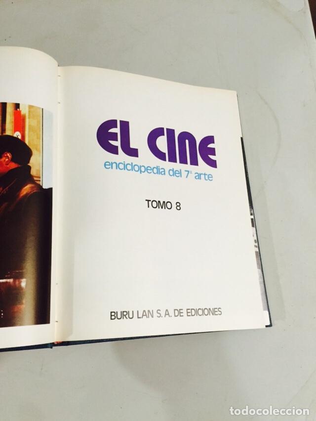 Libros: Enciclopedia del 7 arte el cine 8 volúmenes - Foto 3 - 121904108