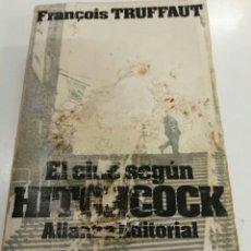 Libros: EL CINE SEGÚN HITCHCOCK FRANÇOIS TRUFFAUT ALIANZA EDITORIAL. Lote 121959759