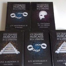 Libros: FANTÁSTICO LOTE LOS GRANDES MUSICALES. Lote 124178916