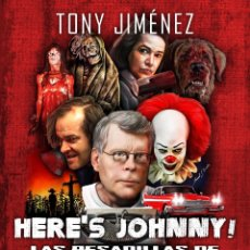 Libros: HERE'S JOHNNY! LAS PESADILLAS DE STEPHEN KING VOL. 1 (1974-1989). Lote 182615830