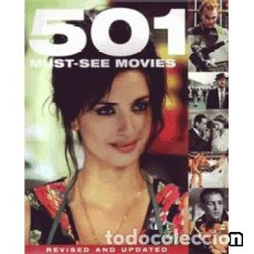 Libros: 501 MUST-SEE MOVIES. Lote 140984570
