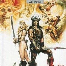 Libros: CONAN EL BÁRBARO (LIBRO SOBRE LA PELÍCULA, INCLUYE DVD) DIRECTOR: JOHN MILIUS. Lote 142510170