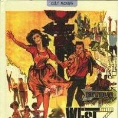 Libros: WEST SIDE STORY (LIBRO SOBRE LA PELÍCULA, INCLUYE DVD) DIRECTOR: ROBERT WISE AND JEROME ROBBINS. Lote 142511402