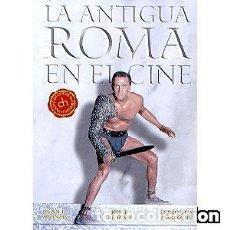 Libros: LA ANTIGUA ROMA EN EL CINE AUTOR: JUAN J. ALONSO, JORGE ALONSO Y ENRIQUE A. MASTACHE. Lote 143373778