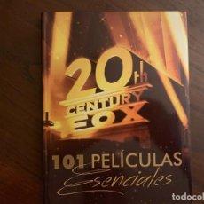 Libros: 20TH CENTURY FOX - 101 PELÍCULAS ESENCIALES - NUEVO. Lote 161380429